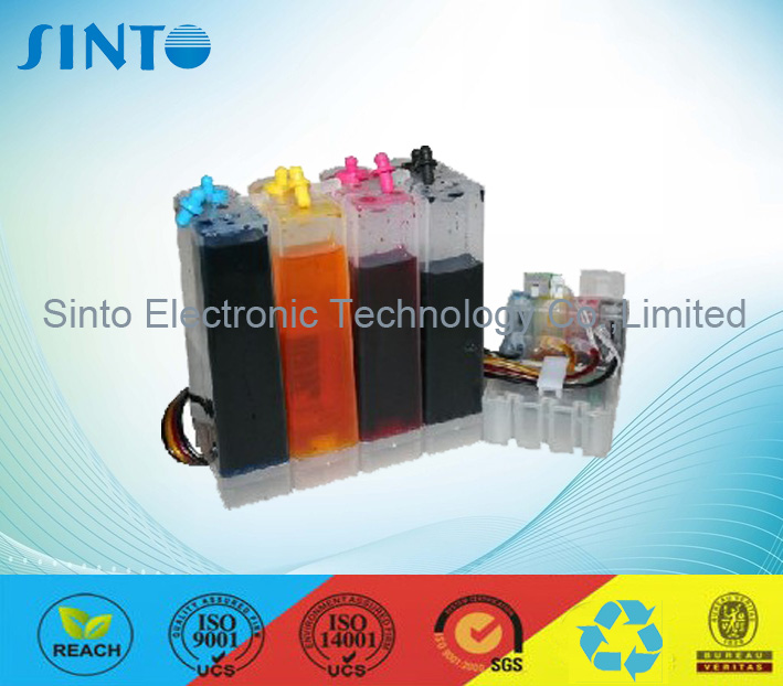 Continuous Ink Supply System for Epson Nx125/Nx127/Nx420/Nx625/Wf320/323/325/520/630/633/635 etc